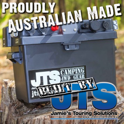 original JTS Power Easy Camping Battery Box