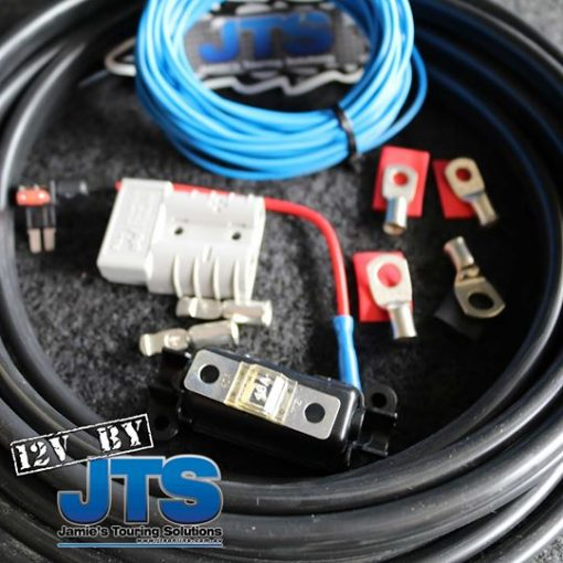 Complete cable kit for your dual battery system. Suits the JTS Power Easy and JTS Ute Back Dual Cab Dual Battery System