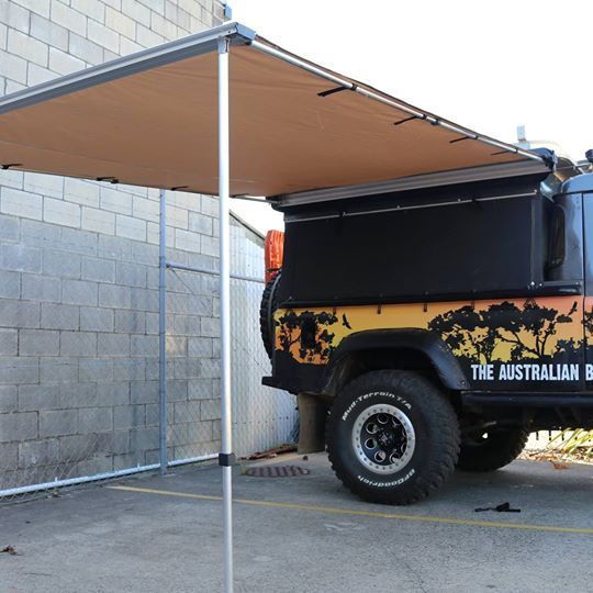 Jts 4wd Side Awning 2 5m X 2 5m Jamie S Touring Solutions