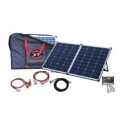Model No. KT70711 KT PREMIER 160 W, 12V Dual Charging Solar Folding Kit