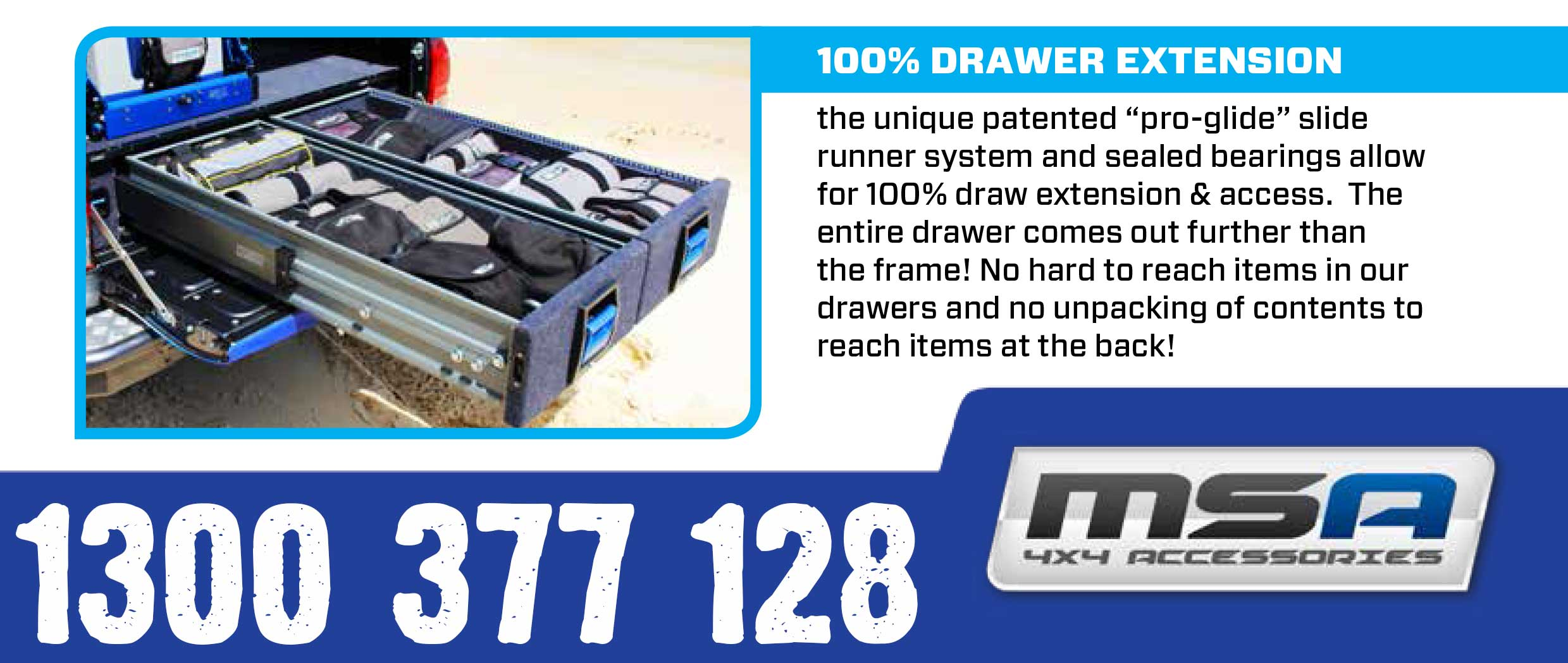 MSA DRAWER SYSTEM | 4WD DRAWER SYSTEM