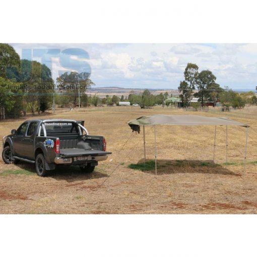 4WD Side, Rear or Ute Awning | bag awning | large 4wd awning | drive away awning