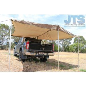 4WD Side, Rear or Ute Awning | bag awning | large 4wd awning | drive away awning