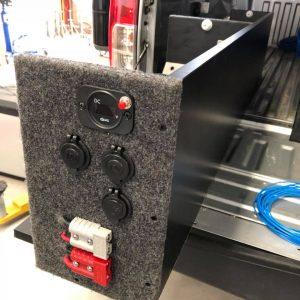 nissan navara dual battery