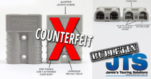 How to identify counterfeit Anderson Plugs