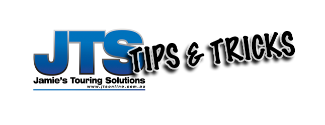 Jamie's Touring Solutions, camping hack, tips and tricks