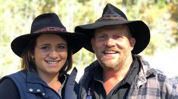 australian bushman and tamara hazelden