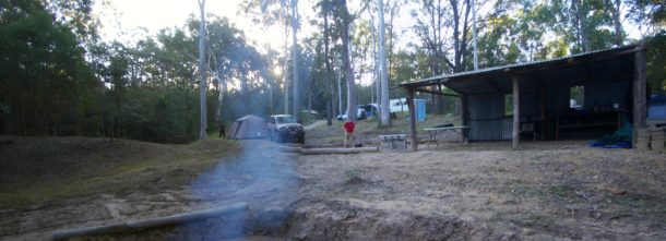 bushmans retreat community camp fire