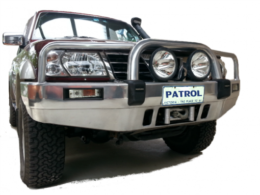 Winch Cradle GU Nissan Patrol