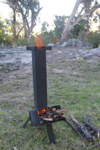 Rocket Stove Kindling Camp Stove