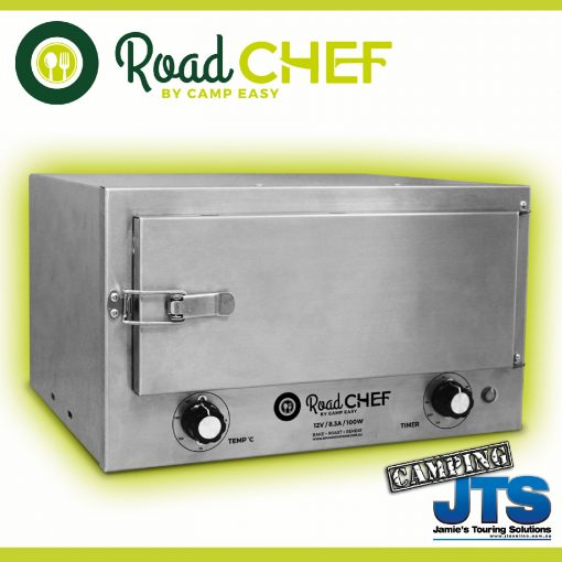Road Chef Travel Buddy style marine grade 12 volt oven from JTS