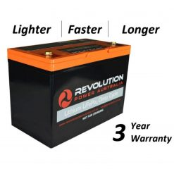 Revolution Power Lifepo4 Deep Cycle Lithium Battery 12v