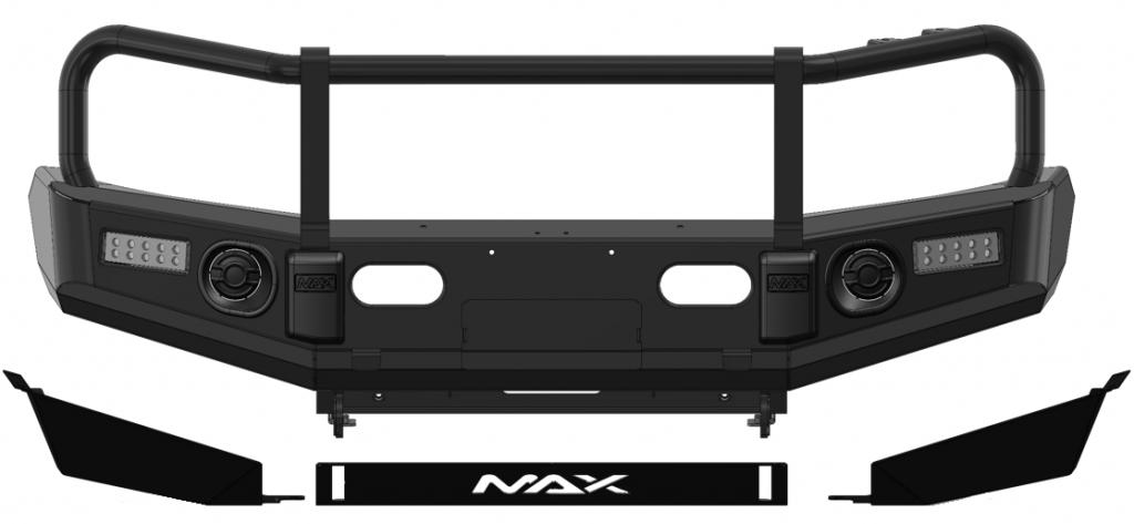 Max 4x4 4WD Bull Bar
