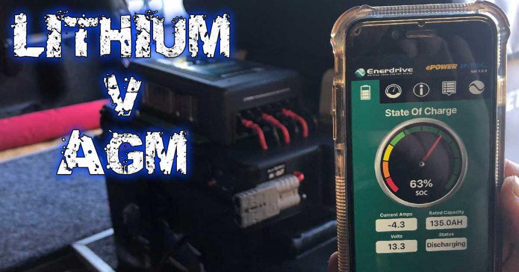 lithium versus AGM Comparison