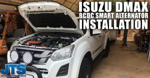 How to find a ignition source for a BCDC installation on a DMAX