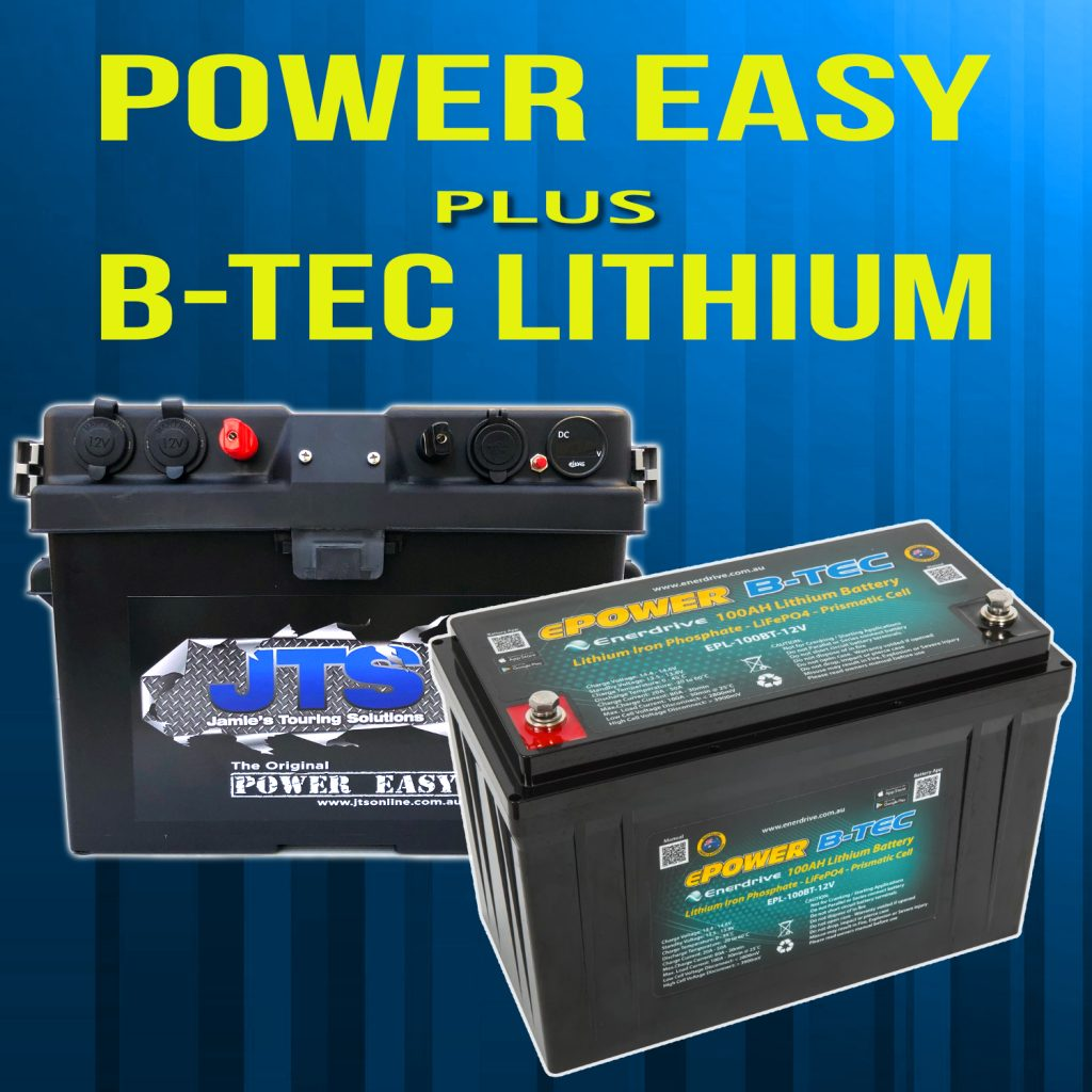 lithium b-tec dual battery combination